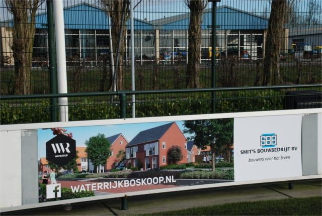Smit's Bouwbedijf Sponsoring Floreant BGC Boskoop Waterrijk
